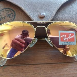 Brand new authentic Ray-Ban sunglasses